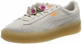 Puma Women's Platform Flower Tassel WN's Low-Top Sneakers