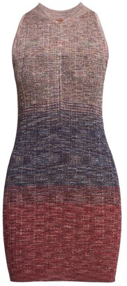 Missoni Lame Sleeveless Knit Mini Dress