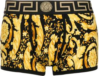 Versace Barocco print boxers