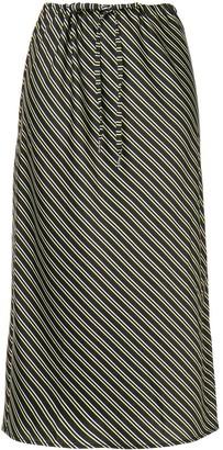 Alexander Wang Striped Print Skirt