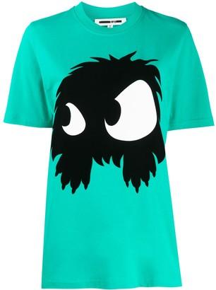 McQ Swallow short sleeve monster print T-shirt