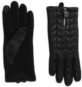 Lauren Ralph Lauren Quilted Leather Touch Gloves
