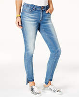 Indigo Rein Juniors' Released Stair-Step Skinny Jeans