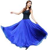 Beach Dress, TOOPOOT Women Elastic Waist Chiffon Long Maxi Beach Skirt