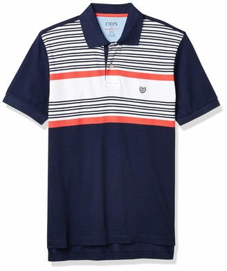Chaps Men's Classic Fit Cotton Everyday Polo Shirt (Spring/Summer)