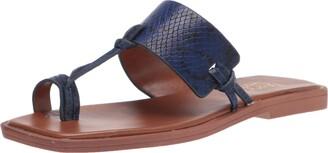 Franco Sarto Womens Mayleigh Cobalt Sandals 5.5 M