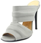 Kalliste Vitello Women Open Toe Leather Slides Sandal.