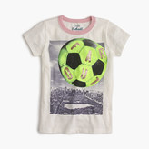 "J.Crew Girls' ""far out"" soccer T-shirt"