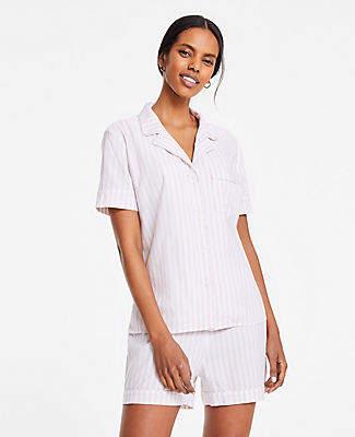 Ann Taylor Striped Pajama Set