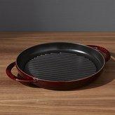 Crate & Barrel Staub ® Grenadine Red Round Pure Grill