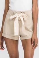 Lush Lace Up Shorts