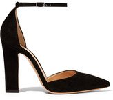 Gianvito Rossi Suede Pumps - Black