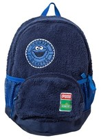 Puma Blue Cookie Monster Sesame Street Small Backpack