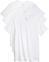 Calvin Klein Underwear 3 Pack Cotton Classic Crew Neck Tees