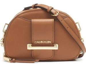 Calvin Klein Chain Leather Crossbody