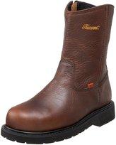 Thorogood Work Boots Mens Side Zip Steel Toe Brown 804-4132