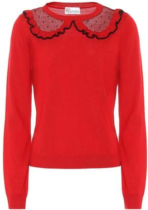 RED Valentino Merino-wool sweater