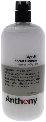 Anthony Logistics For Men 32Oz Glycolic Facial Cleanser
