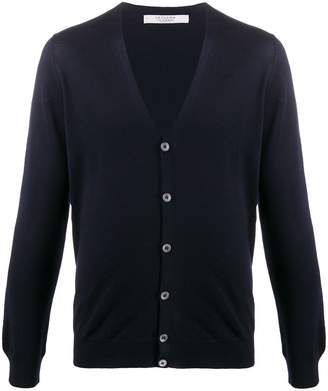 D'aniello La Fileria For V-neck knitted cardigan