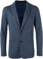 Giorgio Armani welt pocket blazer - men - Polyamide/Spandex/Elastane/Cupro/Viscose - 48