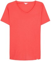 Orlebar Brown Ob-v Coral Cotton T-shirt