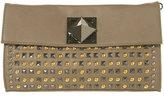 Multi Stud Pyramid Clutch Bag