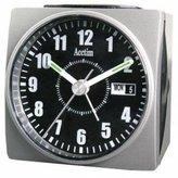 Acctim Dateline' Alarm Clock (Silver)