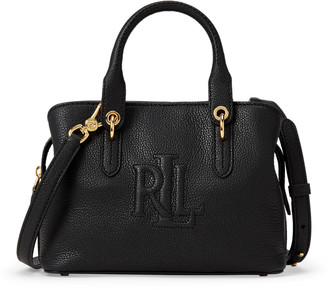 Ralph Lauren Hayward Leather Small Satchel