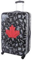 Atlantic Red Leaf 28-Inch Hardside Upright Spinner Luggage AL43478