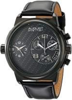 August Steiner Men's AS8151BK Analog Display Swiss Quartz Watch