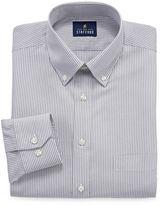 STAFFORD Stafford Executive Non-Iron Cotton Pinpoint Oxford Long Sleeve Dress Shirt