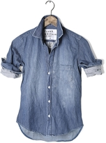 Frank And Eileen Womens Eileen Stone Washed Indigo