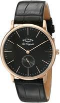 Rotary Men's gs90053/04 Analog Display Swiss Quartz Watch