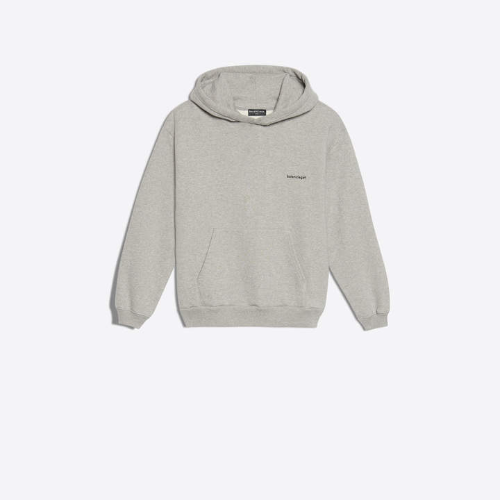 Balenciaga KidsBalenciaga Hoodie with 'copyright' logo printed at chest