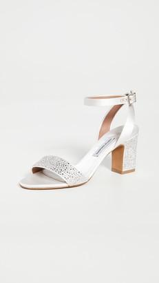 Tabitha Simmons Leticia Swarovski Sandals