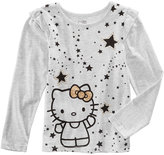 Hello Kitty Stars Glitter T-Shirt, Toddler Girls (2T-5T)