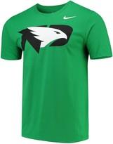 Nike Men's Green North Dakota Big Logo T-Shirt