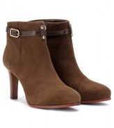 PATRICIA SUEDE ANKLE BOOTS