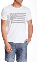 Save Khaki Flag Print Tee