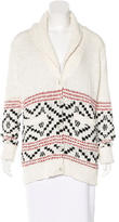 Paige Oversize Patterned Cardigan w/ Tags