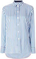 Paul Smith striped longline shirt