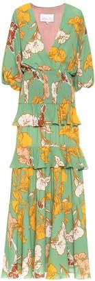 Johanna Ortiz Voila, It's Art floral maxi dress