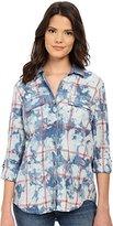 Splendid Women's Costa Plaid Shirt