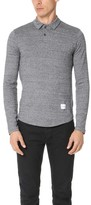 MKI Long Sleeve Polo Shirt
