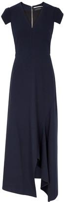 Roland Mouret Kinglake Navy Midi Dress