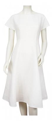 Max Mara Weekend White Linen Dresses