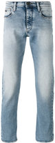 Emporio Armani straight leg faded jeans - men - Cotton/Spandex/Elastane - 29