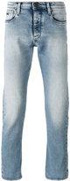 Emporio Armani straight leg faded jeans