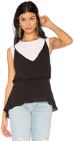 BCBGMAXAZRIA Elain Tank in Black. - size M (also in )