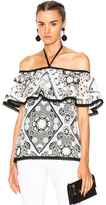 Alexis Isa Top in Floral,White.